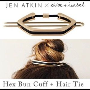 HEX Bun Cuff and hair tie by C+I